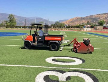 Artificial grass for athletic fields. Best synthetic grass for sports, stadiums, soccer, football, multi-purpose sports fields.