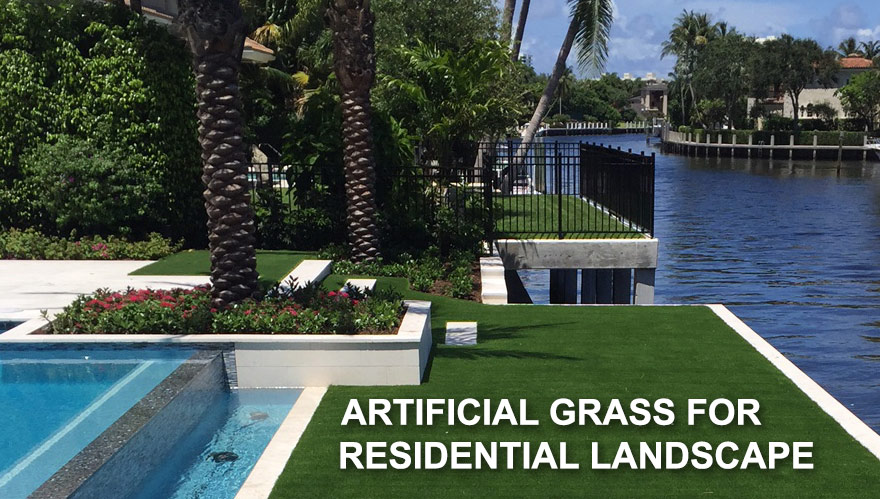 Artificial grass for landscape, synthetic lawns, back yard, fron yard, drive ways